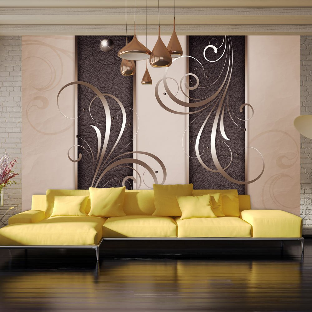 Murando - - - Fototapete 350x256 cm - Vlies Tapete - Moderne Wanddeko - Design Tapete - Wandtapete - Wand Dekoration - Abstrakt Ornament a-A-0087-a-b d431ee