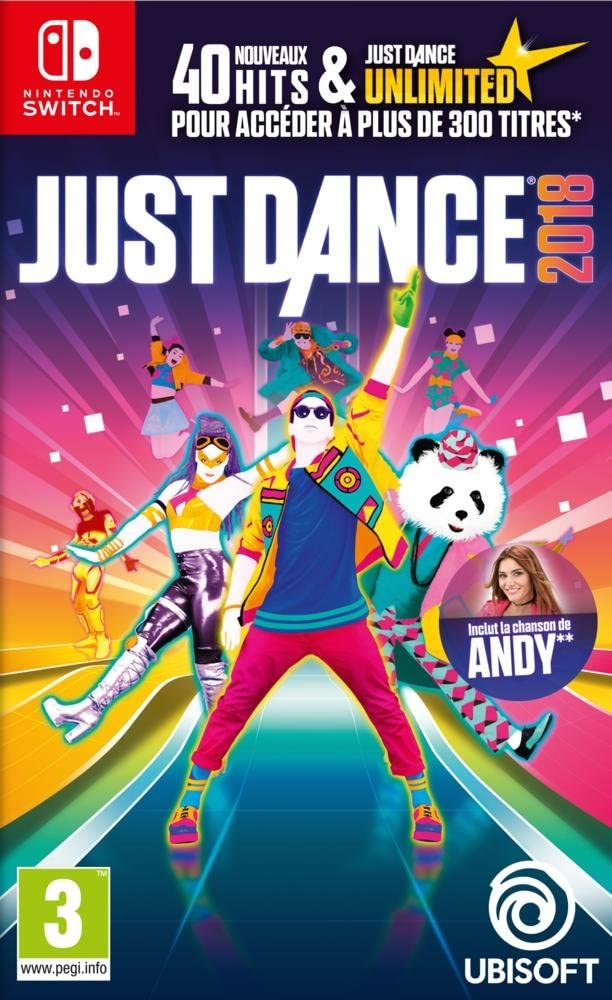 Just Dance 2018 - Nintendo Switch [Importación francesa]: Amazon ...