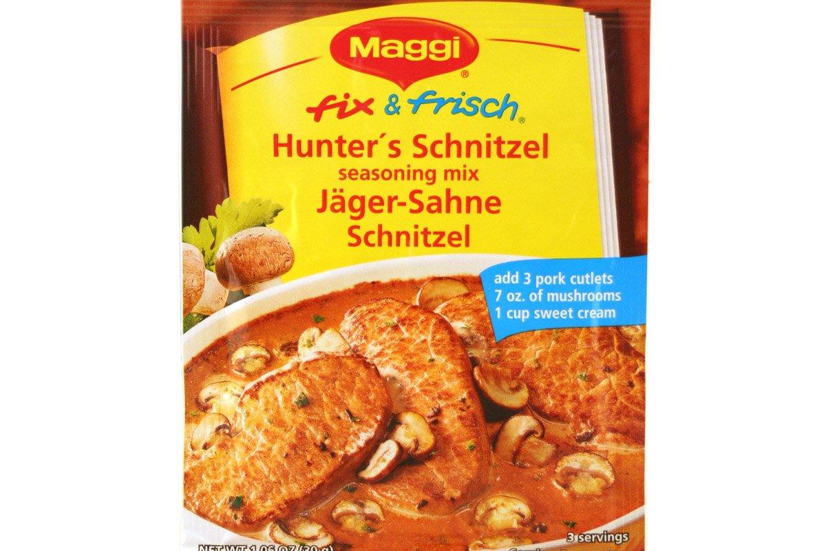 Maggi Hunter Mix, Jager Schnitzel 1.05 Oz (Pack of 6)