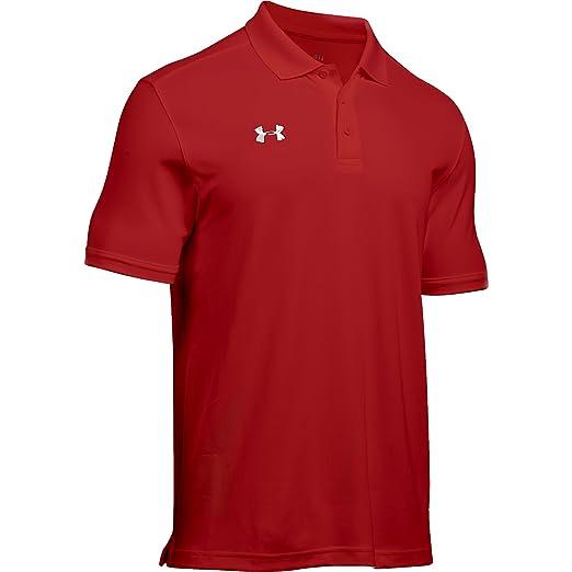 21d71694 Under Armour Men's UA Team Armour Polo at Amazon Men's Clothing store: