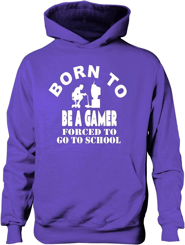 Print4U Born to Be A Gamer Boys Girls HoodieAge 5-13 Years