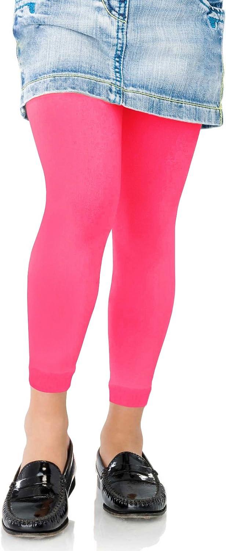 Kids Fashion Girls Microfiber Semi-Opaque Footless Tights 40 Denier