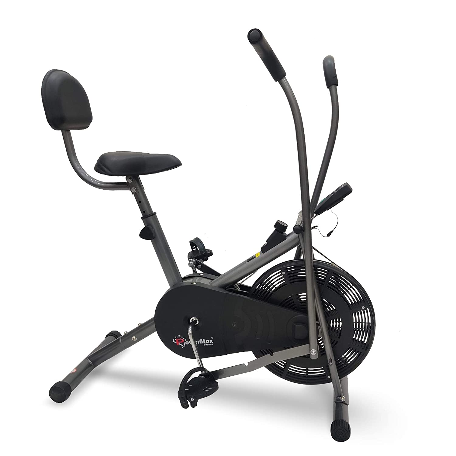PowerMax Fitness BU-201 Air Bike Exerciser For Thigh Reducing Workout at Home