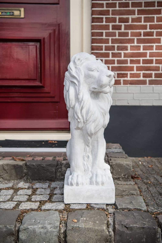 XXL Löwe Skulptur Figur Statue Garten Haus Antik-Stil Gartendeko 75cm Torwächter