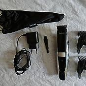Philips BT9297/15 - Barbero con guía láser, incluye recortador de precisión, cuchillas de acero inoxidable, ac / batería, negro, plata: Amazon.es: Salud y cuidado personal