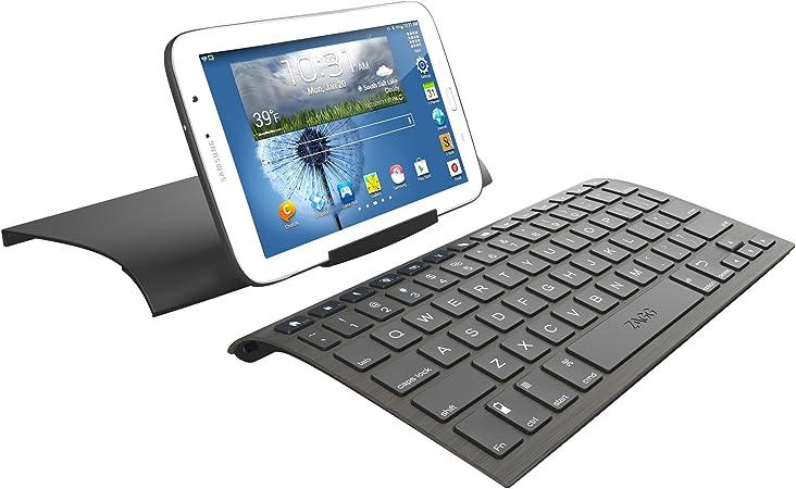 Zagg Keyboard - Teclado para Tablet (Bluetooth, USB Hub), Negro
