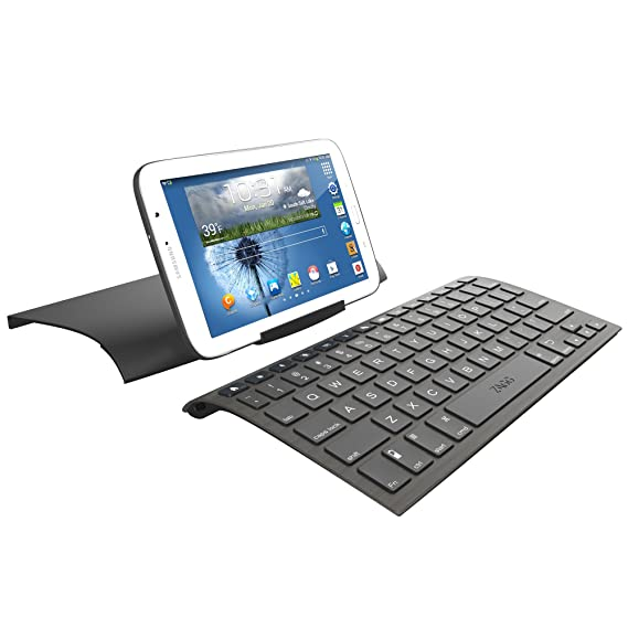 amazon com zaggkeys case with universal wireless keyboard for all rh amazon com