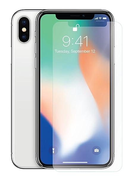 the latest 8a5ad b237e Amazon.com: GabbaGoods Apple iPhone X Tempered Glass Screen ...