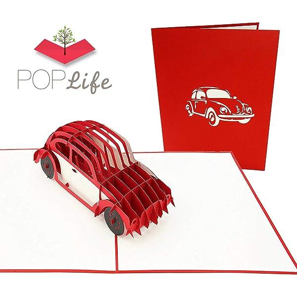 Lovepop Bulldozer Pop-Up Card