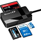 SmartQ C368 Pro USB 3.0 Multi-Card Reader, Plug N Play, Apple and Windows Compatible, Powered by USB, Supports CF/SD/SDHC/SCX