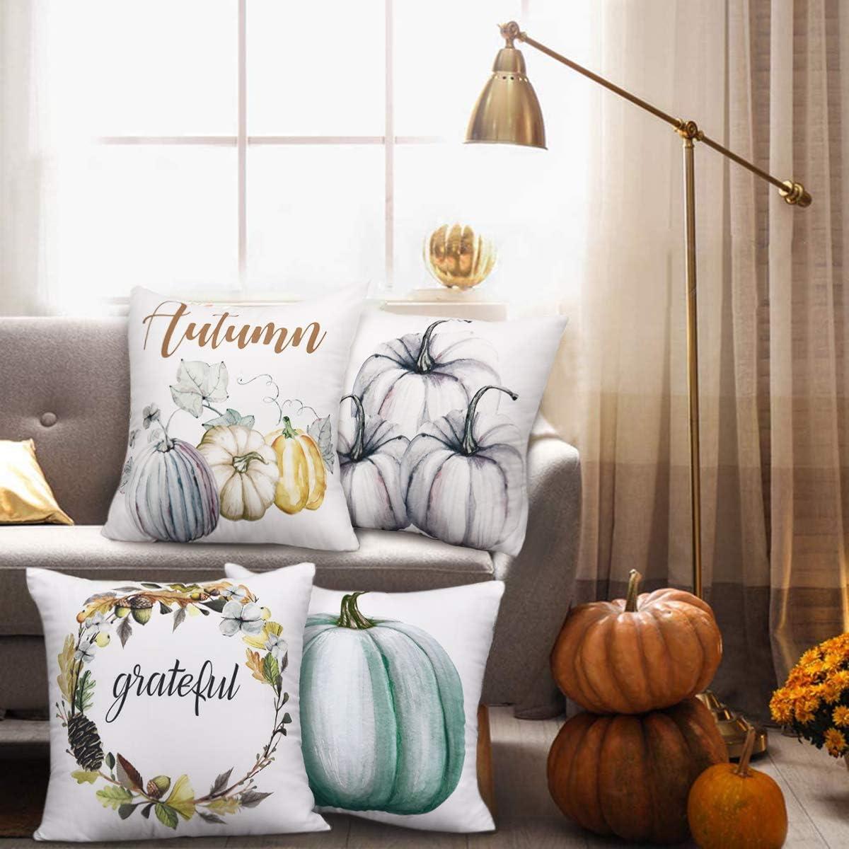 Waist Pumpkin Home Decor Halloween Pillow Case Cover New Sofa Cushion Throw Z2S0