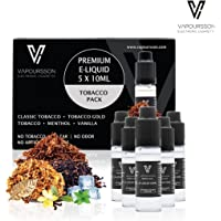 VAPOURSSON 5 x 10 ml E-líquido Tobacco Flavour