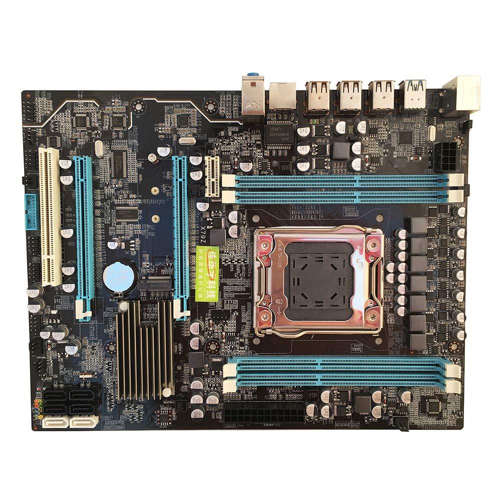 XuBa Solid State X79 Gaming Motherboard Mainboard LGA2011 REG ECC unterst/ützt E5-2670 I7