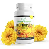 Bee Propolis Capsules 2000mg 270 Vegetarian Capsules 135 Servings 100% Suitable for Vegetarians UK Manufactured from Natural Answers Bees Propolis Propoli Pure Propolis