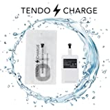 TENDO CHARGE Wireless Receiver Apple iPhone 7, 7 Plus, 6, 6 Plus, 6s, 6s Plus, 5, 5s, 5c Fast Speed Wireless Qi Charger: The Piece You Were Missing,This Card Works With Any Wireless Charging Pad.