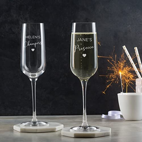 fc579ab1a89 Personalised Champagne Flute/Engraved Champagne Glass/Best Friend Gift For  Women/Personalised Etched