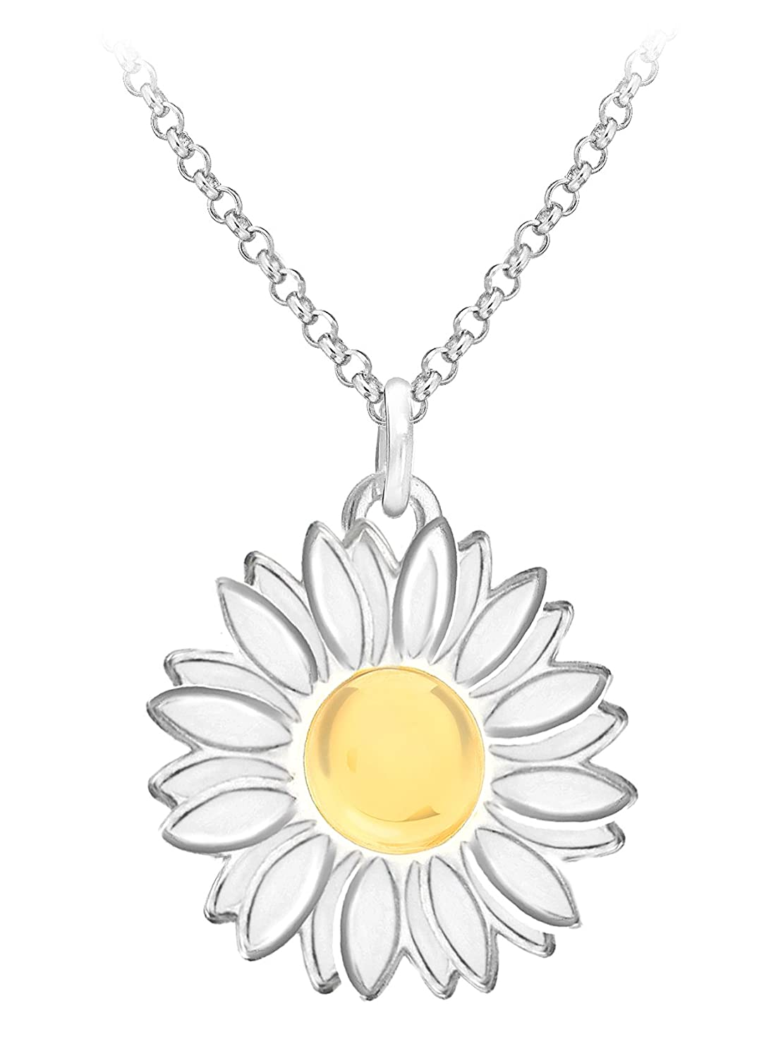 jenna daisy products silv dsy necklace pendant clifford