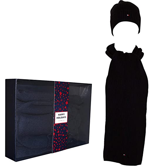 69ca0f68651 Tommy Hilfiger Pima Cotton Cashmere Hat   Scarf Gift Set