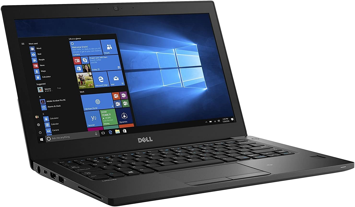 Dell Latitude 12 7000 7280 Notebook: Intel Core i5-6300U | 256GB SSD | 8GB DDR4 | 12.5