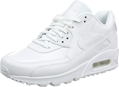 Nike WMNS Air Max 90 Leather, Chaussures de Gymnastique Femme