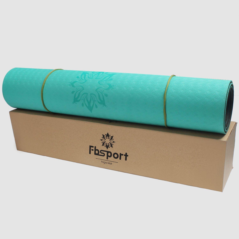 Esterilla de yoga - Antideslizante-de peso ligero - TPE y ...