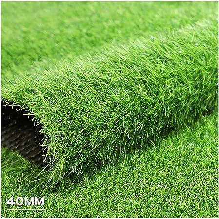 ALGWXQ Césped Artificial Protección Medio Ambiente Natural Jardín Infancia El Centro Comercial Empresa Hierba Falsa, 7 Tipos Verde, Tamaño Personalizable (Color : E, Size : 2x5m): Amazon.es: Hogar