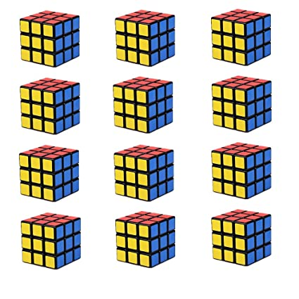 Amazon.com: lebbeen Mini Cubos Party Favors cubeta Puzzle ...