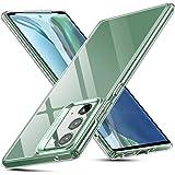 ESR Glass Case para Samsung Galaxy Note 20 [Vidro temperado resistente a riscos] [Estrutura flexível] Série Echo - Transparen