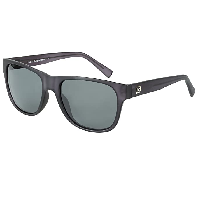 5cb152eac5a DUCO Wayfarer Sunglasses for Men and Women Polarized with Acetate Frame