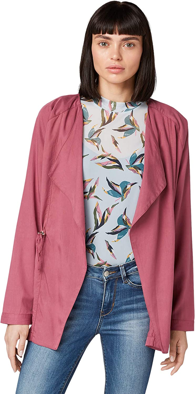 Tom Tailor Womens Flie/ßender Suit Jacket