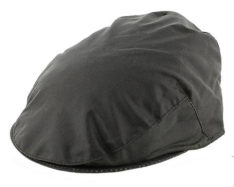 6c16b3bfbd2 The Hat Company Mens Waxed Flat Cap English made (WXC01)  Amazon.co ...