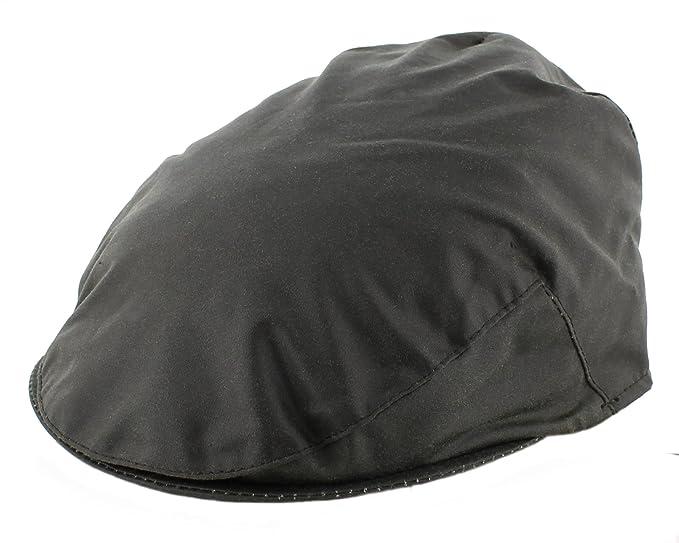 6487b1e5b8e Mens Wax Flat Cap (WXC01) (Extra Large