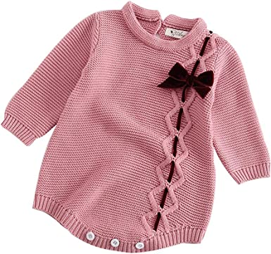 KONFA Toddler Baby Boys Girls Bowknot Loose Rompers,Suitable For 0-18 Months,Cosplay Jumpsuit Kids Clothes