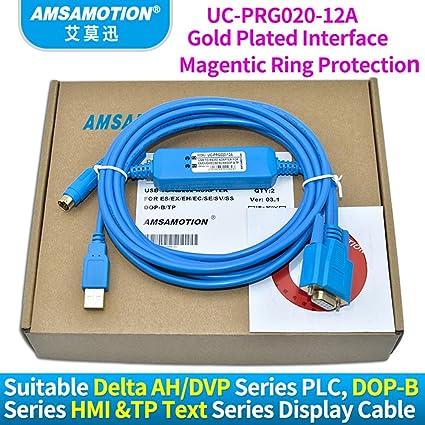 Amazon com: UC-PRG020-12A Suitable Delta AH DVP Series PLC DOP-B
