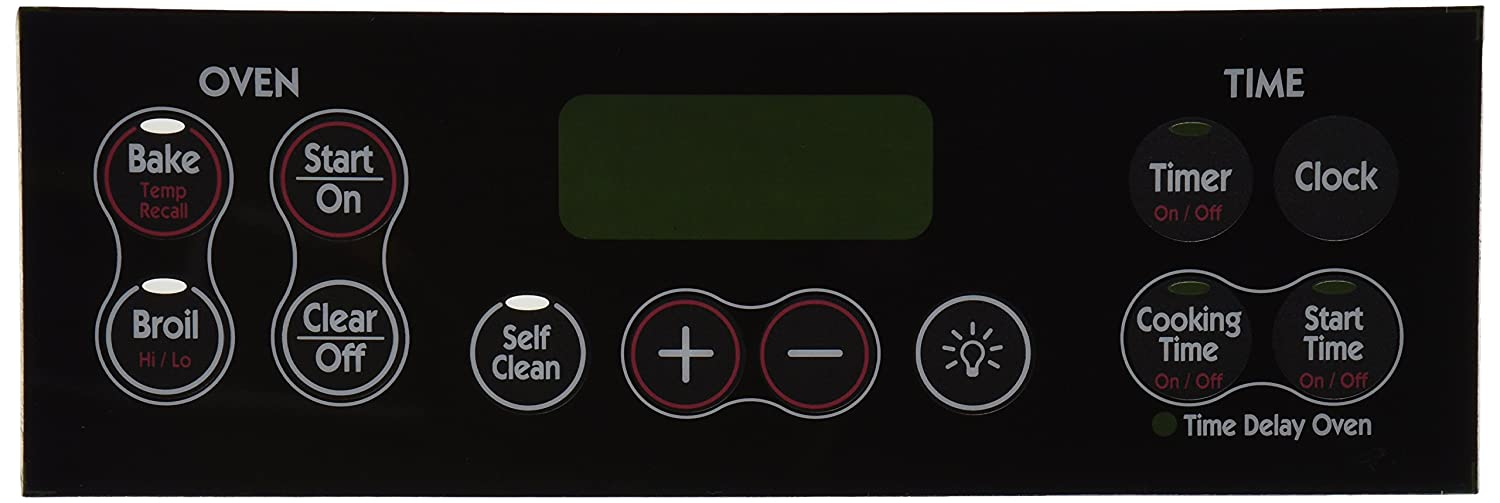 General Electric WB27K10118 Range/Stove/Oven Overlay