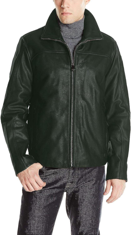 Black, Aviator Jacket Laverapelle Mens Genuine Lambskin Leather Jacket 1501137