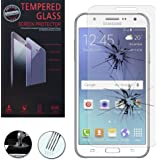 Samsung Galaxy J5 SM-J500F: 1 Film de protection d'écran Verre Trempé - TRANSPARENT