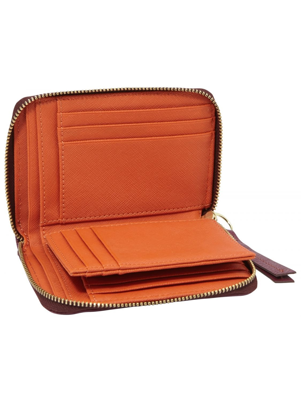 65a7f9d359519 GENUINE FOSSIL Wallet Sydney Woman Purple - sl4267508  Amazon.co.uk  Shoes    Bags