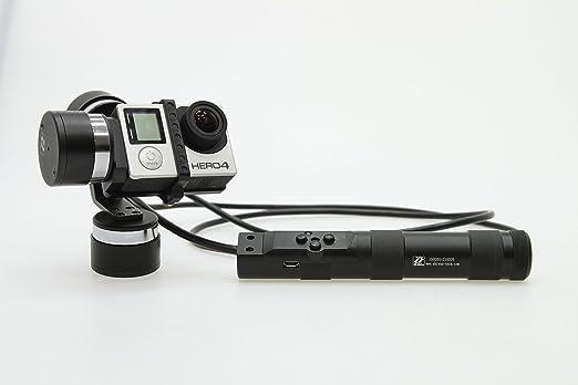 Cinetree z1-rider 3 ejes portátil Gimbal Estabilizador para GoPro Hero 3/3 +/4 SJ4000 Cam: Amazon.es: Electrónica