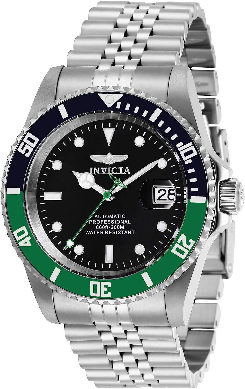 Invicta 29177 Pro Diver Reloj para Hombre acero inoxidable Automático Esfera negro