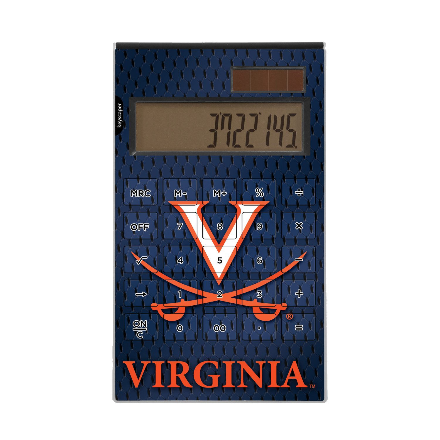 Virginia Cavaliers Desktop Calculator NCAA by Keyscaper