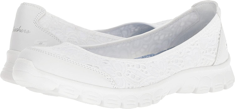 Skechers Women's Ez Flex 3.0-Be You Sneaker B07D7R27NH 10 B(M) US|White