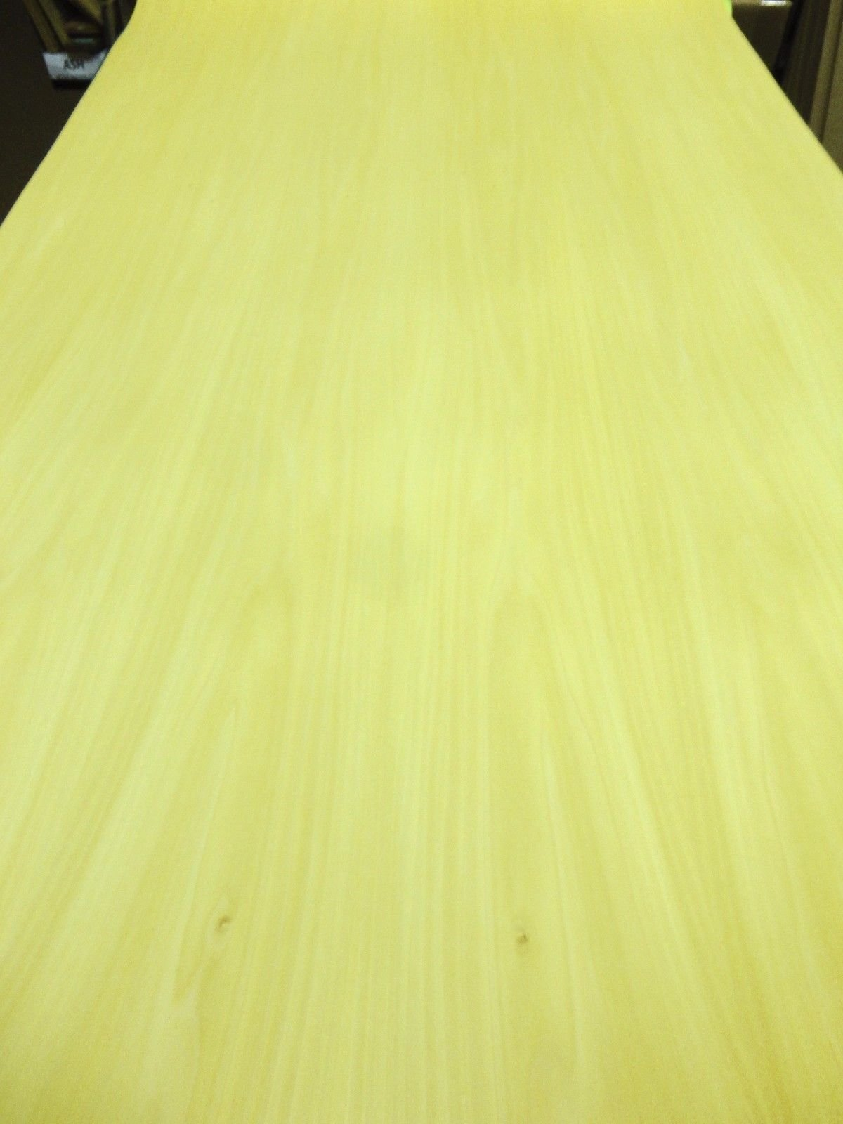 Yellow Poplar Dyed wood veneer sheet 48'' x 96'' with paper backer 1/40'' thickness