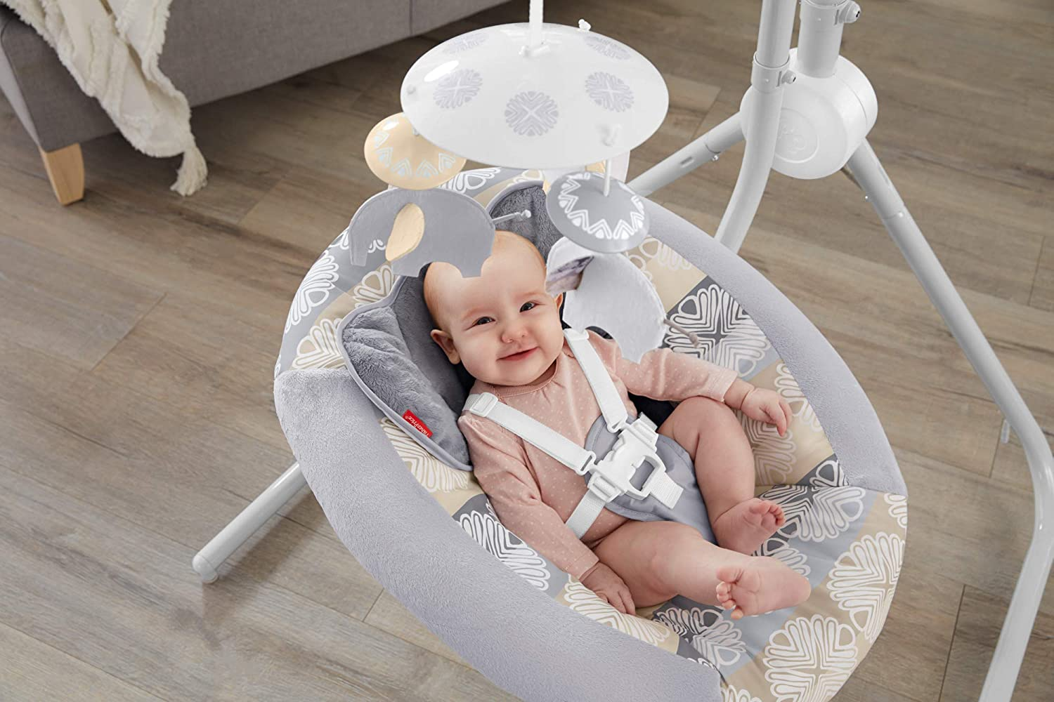 Fisher-Price Fisher-Price Elephant Safari Cradle 'n Swing Fisher-Price Baby