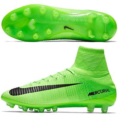 low priced 29c23 87757 Nike Mercurial Superfly V AG Pro 305 Electric Green Black – Ghost (831955)