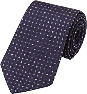product image for Gitman Bros Navy Woven Neat Tie