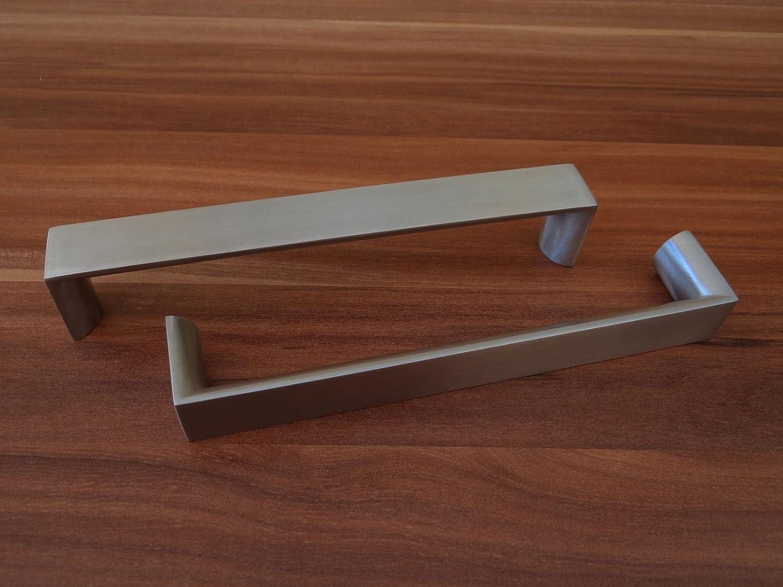 SO-TECH/® M/öbelgriff B/ügelgriff aus Aluminium in Edelstahloptik BA 160 mm