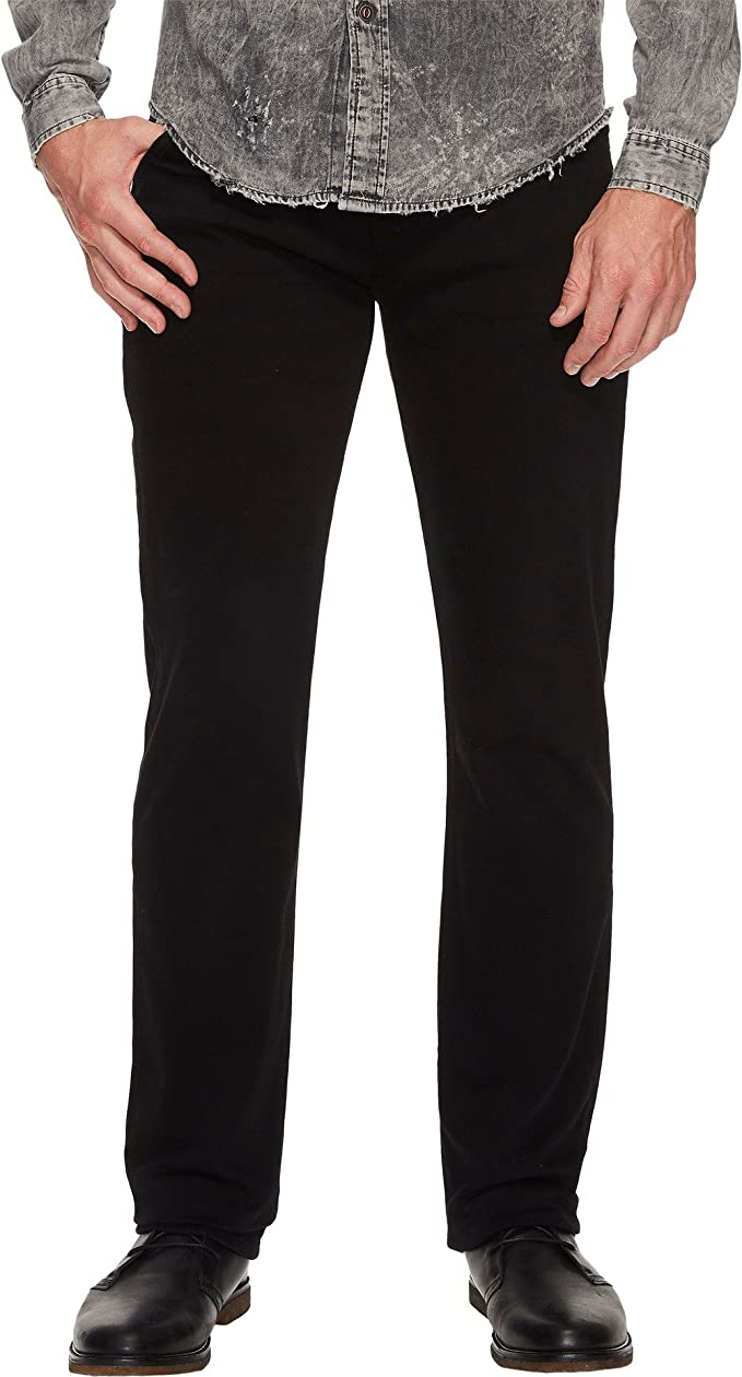 dd98434b 7 For All Mankind Mens The Straight in Annex Black