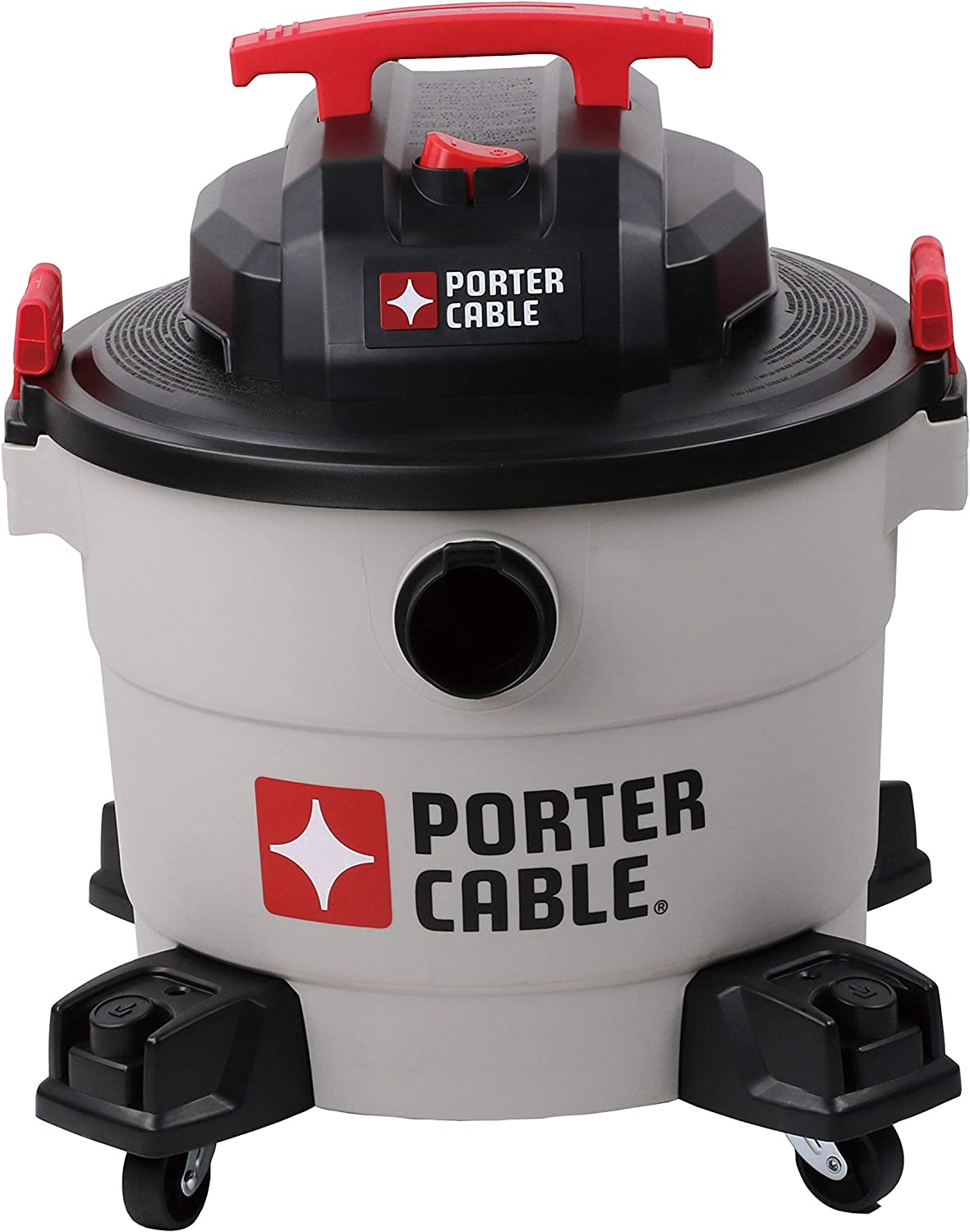 Porter-Cable Wet/Dry Vacuum, 9 Gallon, 5 Horsepower - Corded (Renewed)