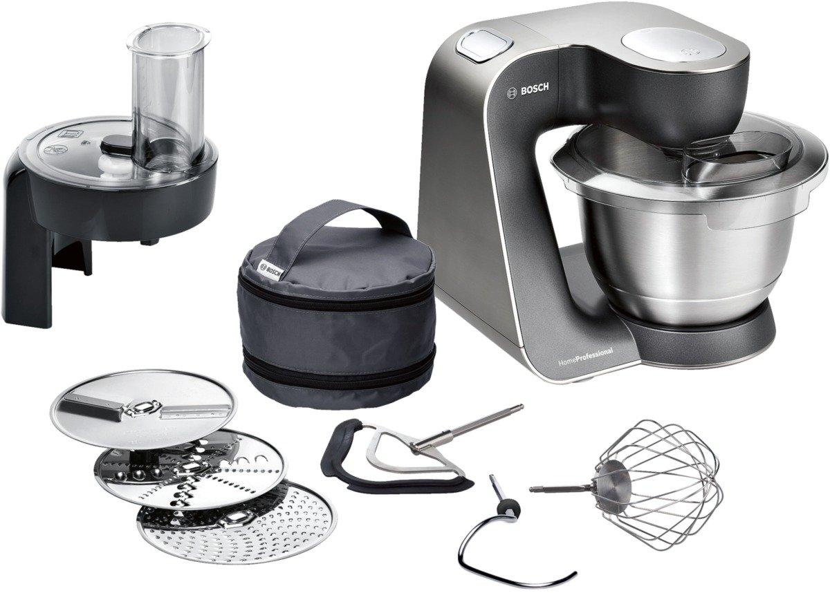 Amazon.de: Bosch MUM57810 Küchenmaschine Styline HomeProfessional ...
